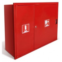 Шкаф пожарный ШПК-315 НЗ (1 огнетушитель, 1 рукав)