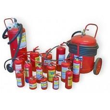 Расчёт необходимого количества первичных средств пожаротушения