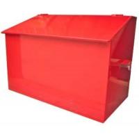 Ящик пожарный для песка 0,1м3 (мет.)